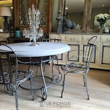 Zinc Dining Table French Tables Barneys Table Base Large