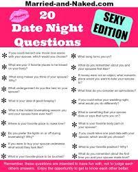 Sex surveys for couples