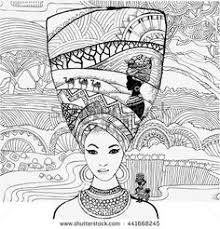 Small Picture Coloring Book African Culture Download the app from here Google