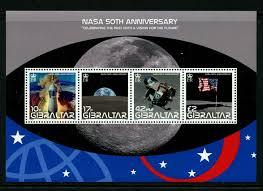 50 Jaar Eerste Man Op De Maan 1969 2019 Postzegelblog