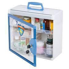 lockable medicine box. Perfect Medicine Glosen First Aid Box Lockable Medicine For D