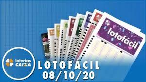 Resultado da Lotofácil - Concurso nº 2052 - 08/10/2020 - YouTube