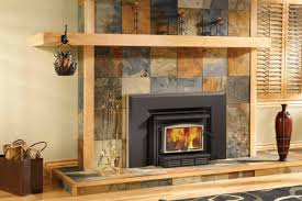 tiled fireplace wall creative