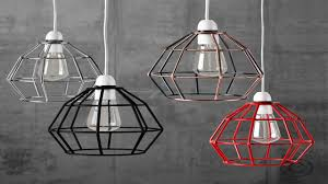 Wire Pendant Light Industrial Vintage Style Hanging Pendant Light Fixture Brass Metal