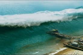 From a tsunami to the largest surf waves ever. How The Epic Tidal Wave That Devastates La On 9 1 1 Was Created