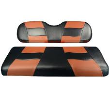 madjax golf cart seat cover set black