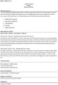 Server Resume Templates Unique Resume Sample Restaurant Restaurant Server Resume Samples Restaurant