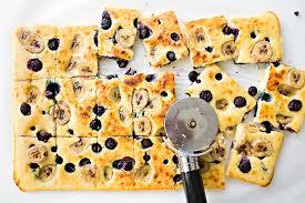 sheet pan cake recipe sheet pan banana blueberry pancakes
