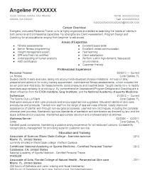 Personal Trainer Resume Adorable Personal Resume Sample Personal Trainer Resume Template New