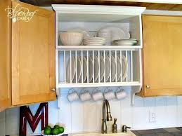 kitchen cabinet dish rack mix builder grade and custom cabinets with a custom plate rack shelf kitchen cabinet dish rack