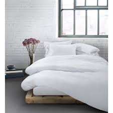calvin klein modern cotton duvet cover white image 2