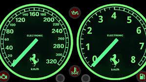 Ferrari F40 Analog D Community Design Sim Dashboard
