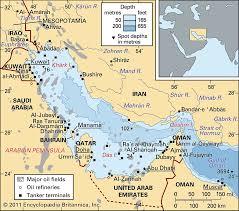 Persian Gulf Gulf Middle East Britannica