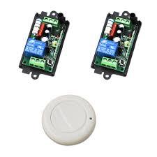 Rf Light Switch Remote Us 12 41 10 Off 220 Volts Wireless Remote Light Switch Remote Control Rf Switch 1ch Wireless Relay Switch Teleswitch In Switches From Lights