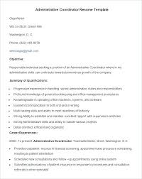Administrative Duties Resumes Functional Resume For An Office Assistant Administration Duties Cv