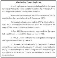 the ozone hole ozone destruction ozone layer ozone  essay on ozone layer depletion specialist s opinion