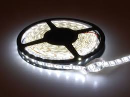 Cool White Led Tape Light Cool White Led Weatherproof Flexi Strip 60 Led White Lead