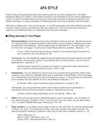 Apa Para Apa Formatting Edsp 4203 Learners With Exceptionalities