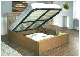 Cool Storage Bed Frames Unique Unusual Bedside Queen Wood Frame ...