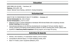 Education High School Resume – Betogether