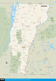 printable travel maps of vermont  moon travel guides