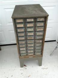 Hobart steel storage cabinet 27 drawer 30s storage organizer ...