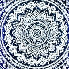 mandala tapestry ombre dorm room decor