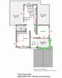 contemporary house elevation and plan at 2000 sq ft