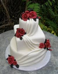 beautiful white and red wedding cakes. Exellent And Red And White Wedding Cake Beautiful  Throughout And Cakes T