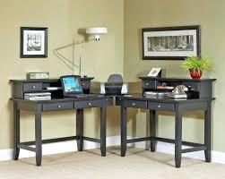 two desk office. Home Office With Two Desks Wondrous Decoration Person Corner Desk Setup E
