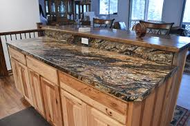 accent countertops and work surfaces