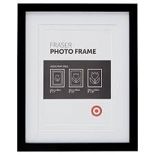 fraser 20 x 25cm frame black