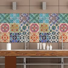 amazing kitchen backsplash tile stickers installation with damask wall pict of for popular and trends tiles