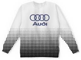 "Свитшот мужской с полной запечаткой ""Авто <b>Audi</b>"" #2516824 от ..."