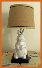 rabbit bunny bunny rabbit light shade shocking winsome ceramic bunny rabbit table lamp so thats cool