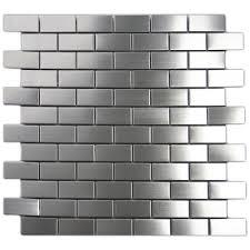 kitchen backsplash stainless steel tiles: image of backsplash stainless steel tiles