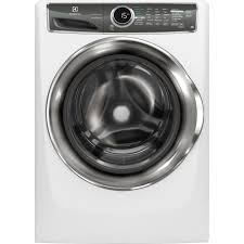 electrolux 24 inch washer and dryer. front load washer with smartboost technology, steam in white, electrolux 24 inch and dryer