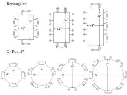 dining table round for 6 dimensions