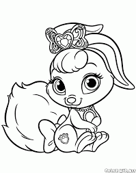 Disegni Da Colorare Degli Animali Delle Principesse Timazighin Con
