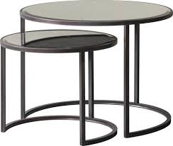 round black coffee table. Tanner Coffee Tables Set/2 Round Black Table A