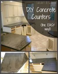 faux crete counters from scratch