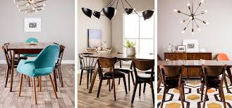 modern dining room table decor. mid-century modern dining room ideas table decor