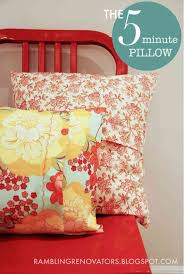 Easy Sewing Projects | DIY Pillow Tutorial at http://diyjoy.com/