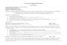Usa Jobs Cover Letter Resume Samples Types Of Formats Examples And