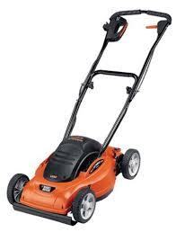 black amp decker lawn mower. black \u0026 decker mm675 lawn hog 18-inch 12 amp electric mulching mower, flip mower l