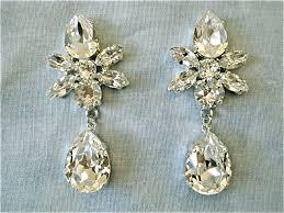swarovski crystal star tear drop earrings images of