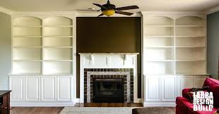 living room built ins cost in