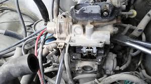 1984 Toyota 22R carburetor flooding quick fix - YouTube