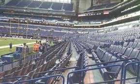 Lucas Oil Stadium Seating Chart For Colts Games Indianapolis Colts Seating Digidownloads Co