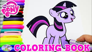 My Little Pony Coloring Book Twilight Sparkle Filly MLP Episode ...